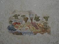 Фреска на декоративной штукатурке