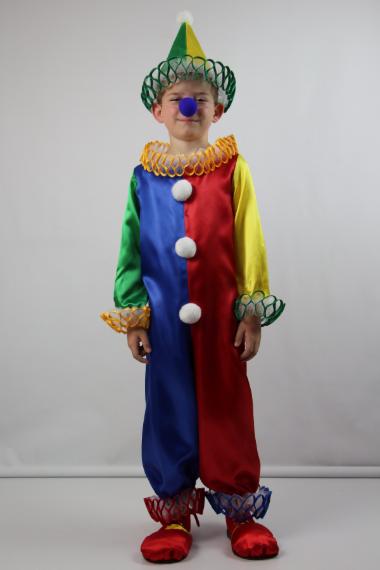 Дитячий карнавальний костюм Клоун на свято