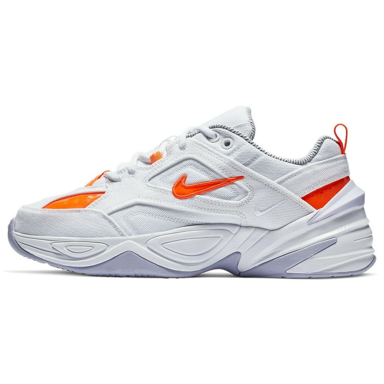 Кроссовки Nike Air Monarch M2K Tekno White Hyper Crimson белые женские