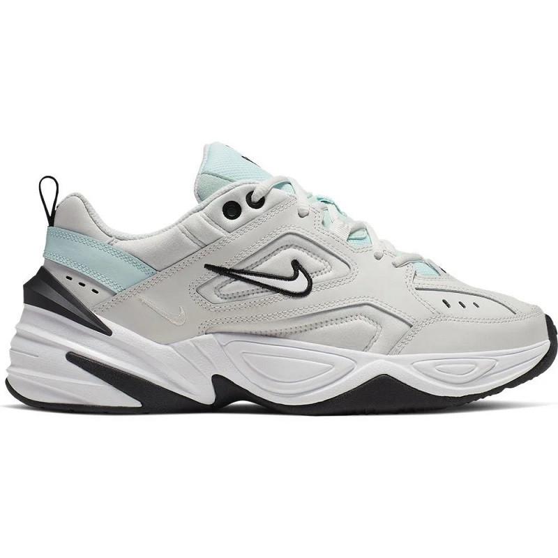 Кроссовки Nike Air Monarch M2K Tekno White Light Blue Серые женские