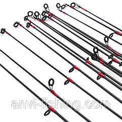 Вершинка для спиннинга - 5 колец - карбон - 2,1 метра Посадочный ∅ 5 мм