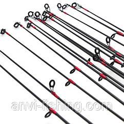 Вершинка для спиннинга - 6 колец - карбон - 2,7 метра Посадочный ∅ 5 мм