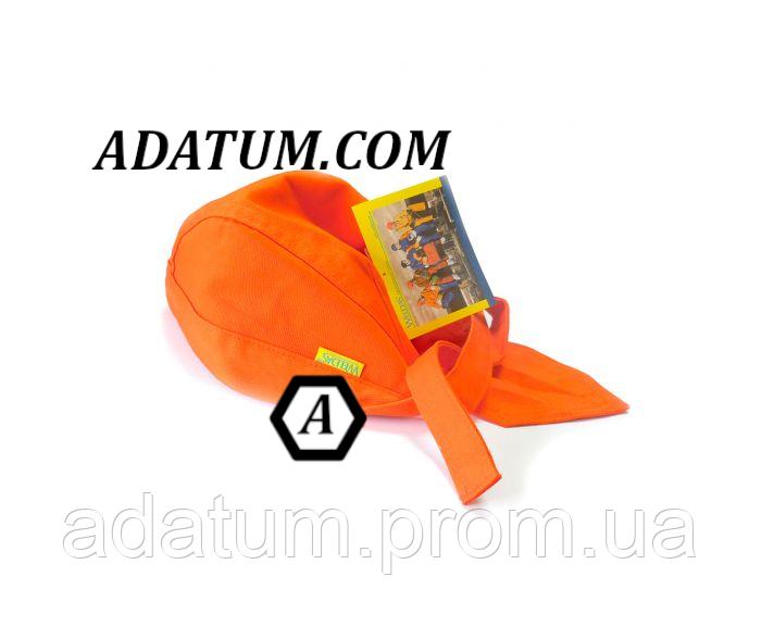 Платок (бандана) сварщика защитная Weldas Fire Fox оранжевая