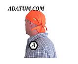 Платок (бандана) сварщика защитная Weldas Fire Fox оранжевая, фото 4