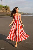 Двухцветное платье из гипюра XS,S,M,L