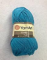 Пряжа Etamin (этамин)30гр - 180м (425 Бирюза) YarnArt, 100% акрил, Турция