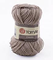 Пряжа Etamin (этамин)30гр - 180м (463 Бежевый)YarnArt, 100% акрил, Турция