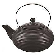 Заварочный чайник керамический 0,75 л черный матовый TP-9350.750
