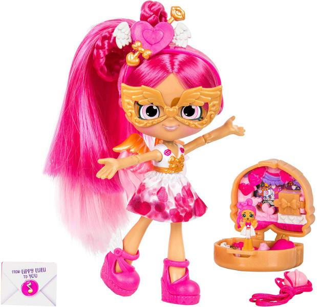 Shopkins Shoppie S2 Кукла Липпи Лулу Маленькие секреты 57258 Lippy Lulu Lil' Secrets Shoppies