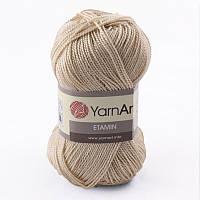 Пряжа Etamin (этамин)30гр - 180м (448 Бежевый) YarnArt, 100% акрил, Турция