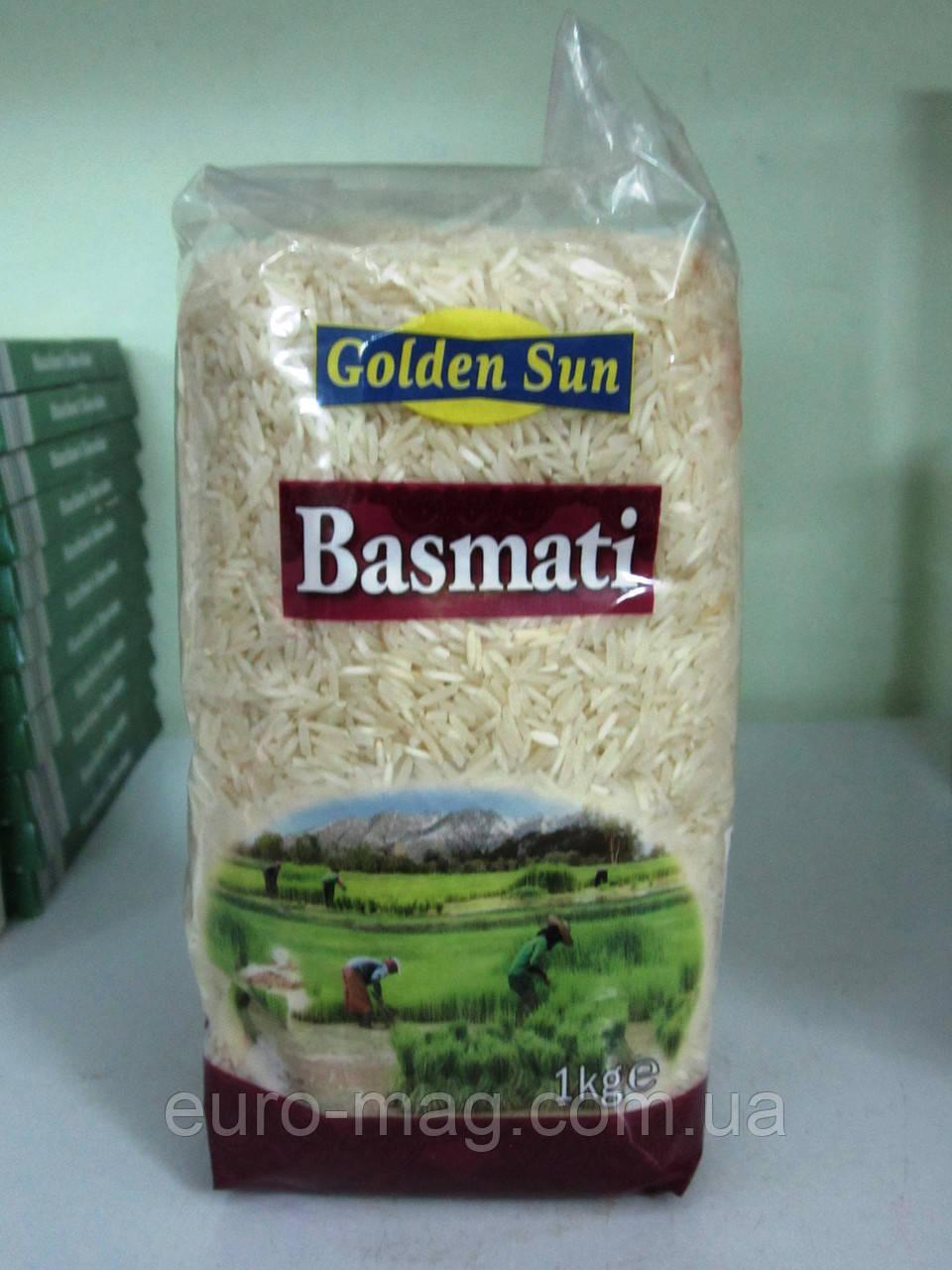 Рис басмати Basmati Golden Sun 1000 г