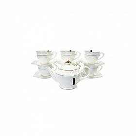 Чайный набор фарфоровый 13 предметов Interos PT0111-A