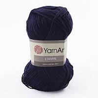 Пряжа Etamin (этамин)30гр - 180м (453 Синий) YarnArt, 100% акрил, Турция