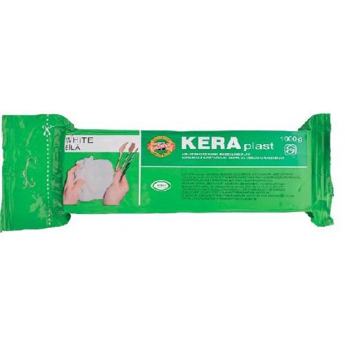 Пластилин KOH-I-NOOR KERAPLAST 131706 1000г БЕЛЫЙ (1)