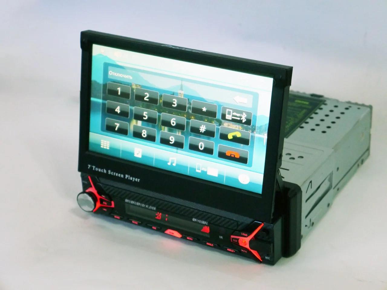 Автомагнітола 1DIN MCX-1703AD Windows з екраном