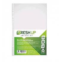 Файл А4 + Fresh Up FR-20-40 глянец 40мкм (100 шт / уп) (1/20/1000)