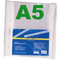 Файл BUROMAX А5 3845 глянец (100шт) 40 мкм (1/40)