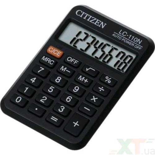 Калькулятор Citizen LC-110III 8-ми разрядный (1)