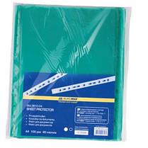 Файл BUROMAX А4 3810-04 PROFESSIONAL (100шт) 40мкм зеленой (1/40)