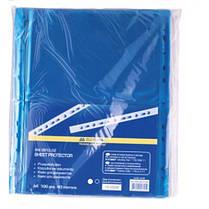Файл BUROMAX А4 3810-02 PROFESSIONAL (100шт) 40мкм синий (1/40)