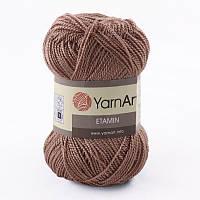 Пряжа Etamin (этамин)30гр - 180м (447-А Темно-бежевый) YarnArt, 100% акрил, Турция