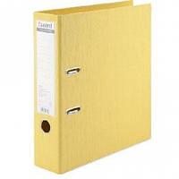Папка регистратор А4 AXENT 1722-08С двусторонний 7 5см. Желтая Prestige + (1)