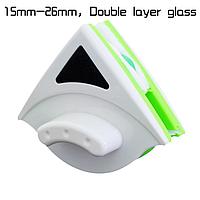 Щетки с магнитами для двухстороннего мытья окон и пластиковых стеклопакетов, SDARISB