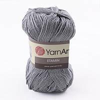 Пряжа Etamin (этамин)30гр - 180м (449-С Светло-серый) YarnArt, 100% акрил, Турция