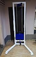 Одиночная блочная рамка (профессиональная серия), стэк 60 кг, фото 3