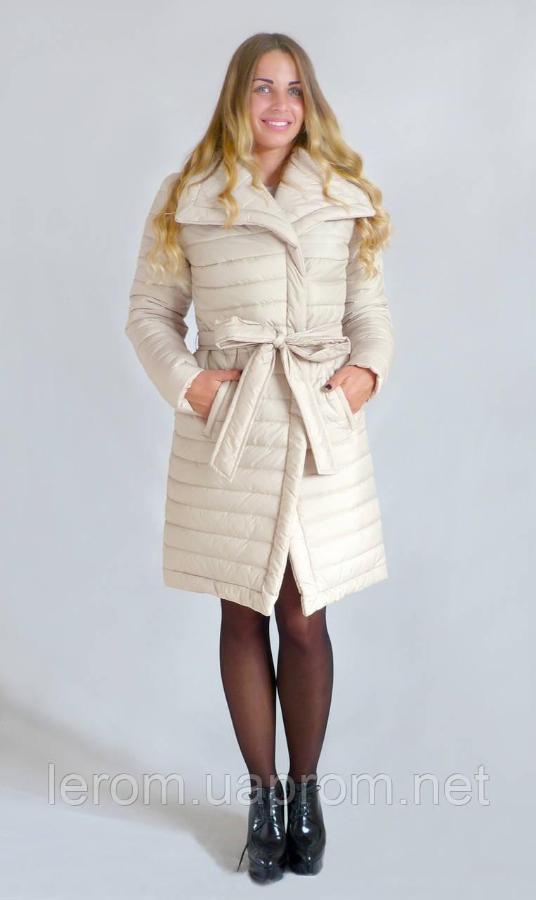 Зимняя куртка  Бант К&ML  беж