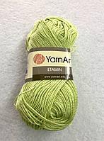 Пряжа Etamin (этамин)30гр - 180м (452-А Салатовый) YarnArt, 100% акрил, Турция