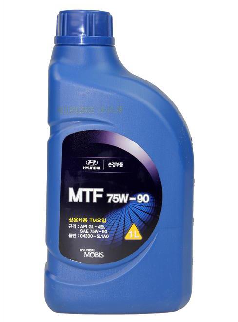Купить Масло трансмиссионное Hyundai Mobis Gear Oil 75W-90 GL-3.4, 1л 043005L1A0