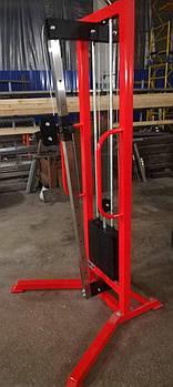 Одиночна блокова рамка з регульованим положенням рукоятки (професійна серія), стек 100 кг