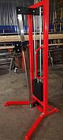Одиночная блочная рамка с регулируемым положением рукоятки (профессиональная серия), стэк 60 кг