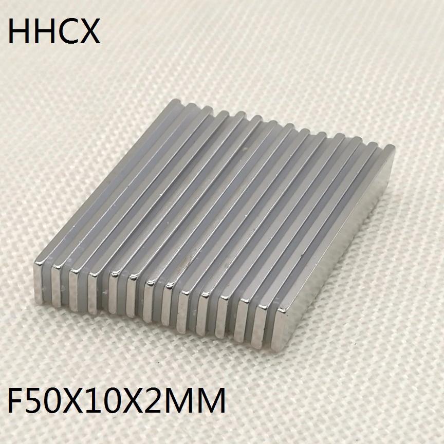 Магнит неодимовый магнит 50 мм x 10 мм x 2 мм пластина магнит 50х10х2 мм.