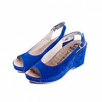 Женские босоножки  505 синие