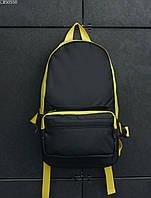 Рюкзак 23L + поясная сумка Staff one plus black & yellow