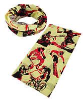 Трикотажный шарф-снуд TRAUM 2522-24