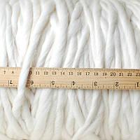 Пряжа 100% NZ Merino, белый (100% меринос; 18 м/100 г)