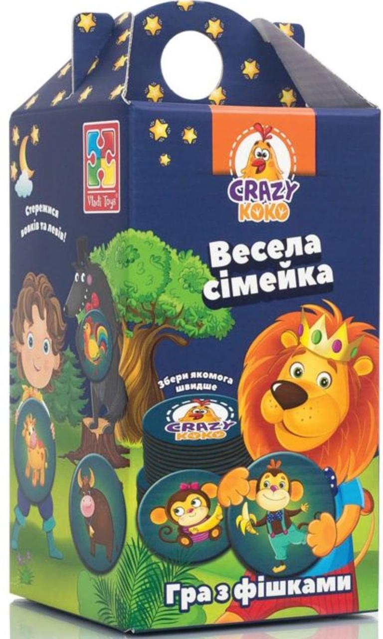 """Crazy Koko """"Весела сімейка"""" VT8033-05 (укр)"""