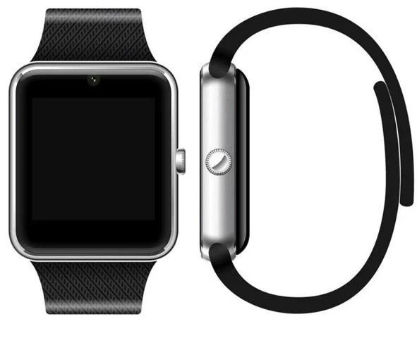 Наручные часы Smart Watch GT08 умные часы Android Смарт часы apple Bluetooth