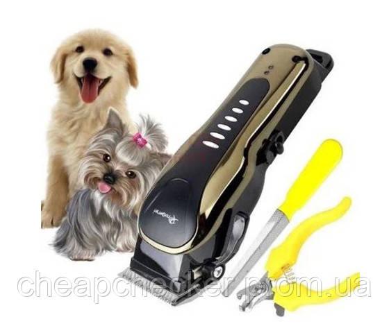 Профессиональная Машинка Для Стрижки Животных Gemei GM-6063 Груминг Собак
