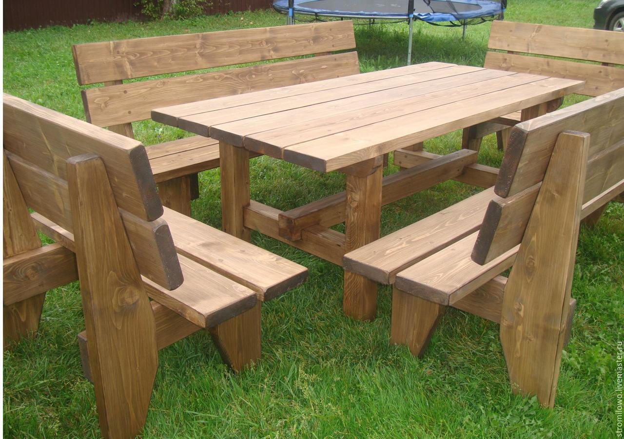 """Деревянный набор садовой мебели """" Бостон"""""""