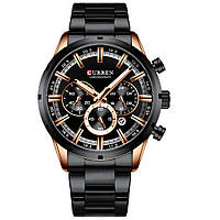 Мужские наручные часы Curren Wild Gold-Black (8355GB)