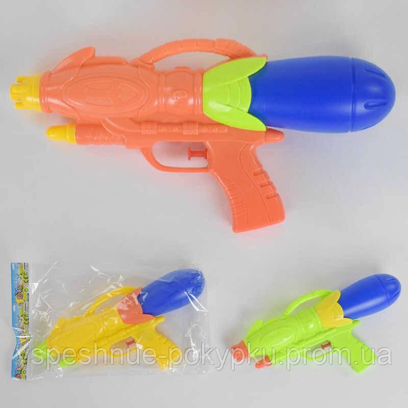 Водный пистолет 0829 (216)  3 цвета, в кульке