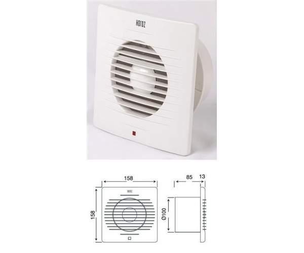 Вентилятор бытовой 12W (Teb Elektrik)