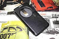 Кожаный чехол книжка для LG Spirit Y70 H422 чёрный