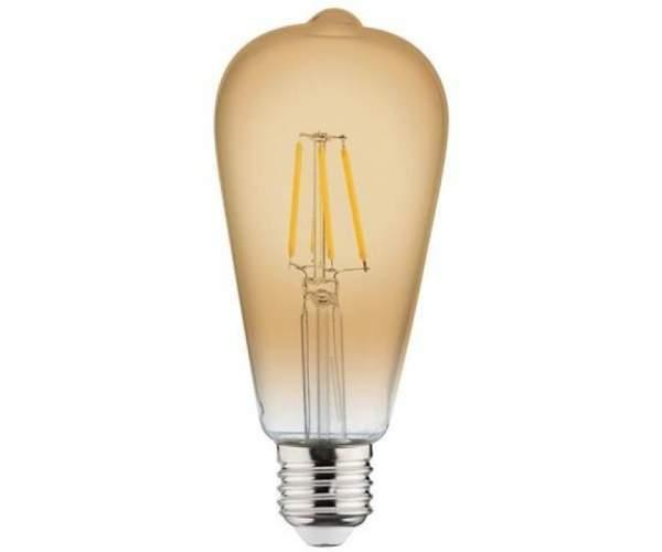 Лампа RUSTIC VINTAGE 4W Filament led  E27 2200K (Horoz Electric)