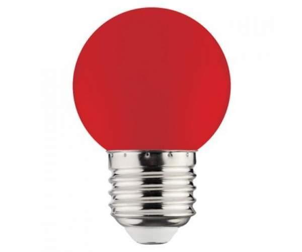 Лампа cветодиодная RAINBOW 1W E27 A45 (Horoz Electric)