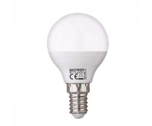 Лампа шарик led ELITE - 8 8W E14  (Horoz Electric)
